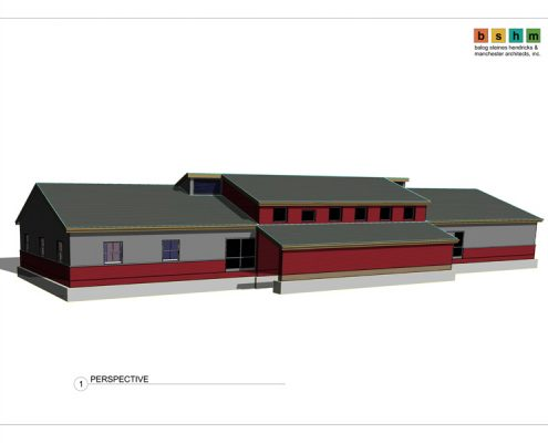 Work to begin 1st qtr 2012 and completed may 2012. Architect: BHSM Architects