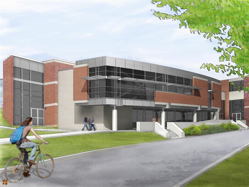 Slippery Rock University - Patterson Hall