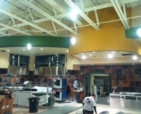 Slippery Rock University - Wisenfluh Dining Hall